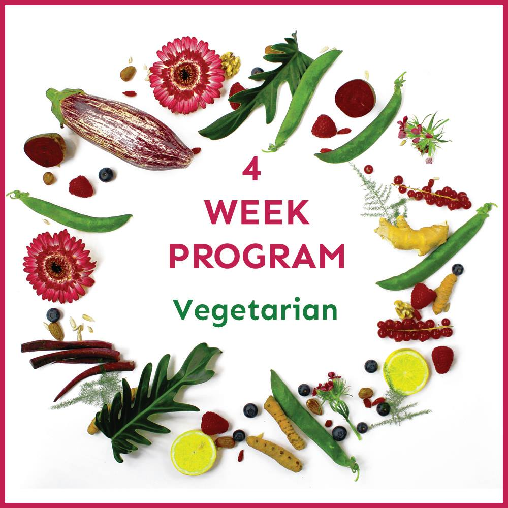 4 week vegetarian meal plan - Anna's Nutrition