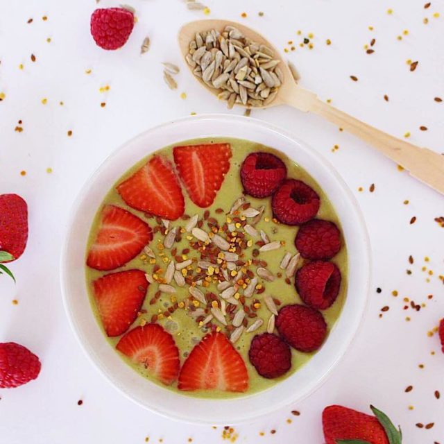 Green Goodness Smoothie Bowl How about a bowl of thishellip