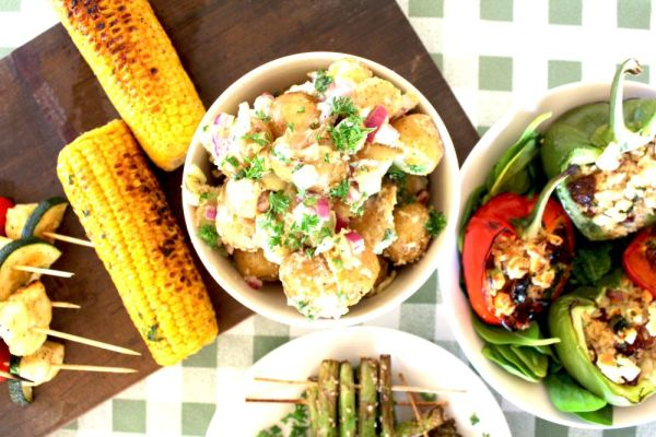 parmesan corn on the cob - Anna's Nutrition