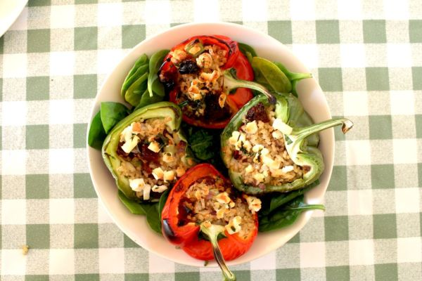 stuffed peppers - Anna's Nutrition