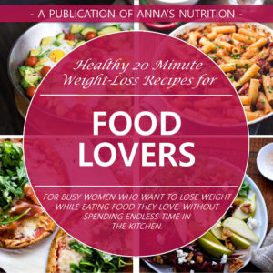 food lovers e-book - Anna's Nutrition